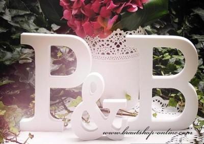 Buchstaben Hochzeit