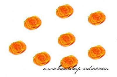Textilrosen orange