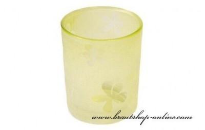 Glas Kerze Hochzeit