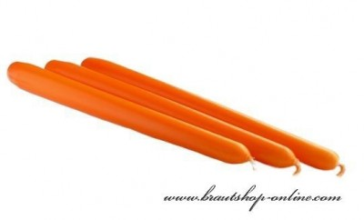Spitzkerze orange