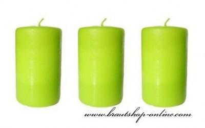 Apfelfarbe Kerzen