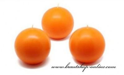 Orange Kerzen Kugel