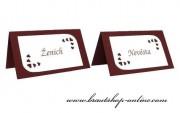 Detail anzeigen - Namensschild mit den Herzen