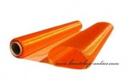 Detail anzeigen - Organzastoff in orange