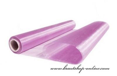 Organzastoff lila-rosa
