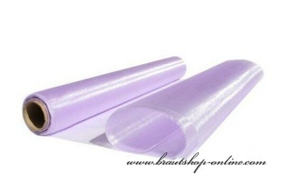 Organzastoff lila
