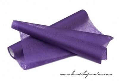 Dekoration Vlies violett