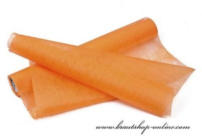 Dekoration Vlies orange