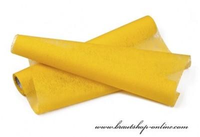 Deko Vlies gelb