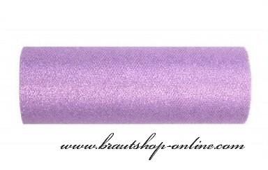 Tafeldekoration in lila