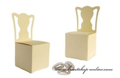 Schachtel Stuhl