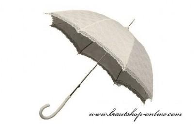 Schirm mit Spitze