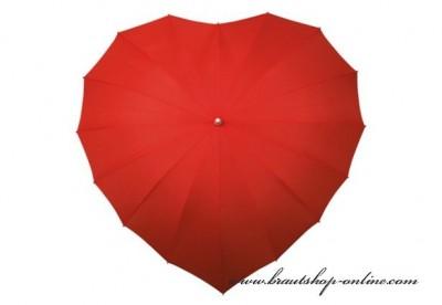 Regenschirm Herz