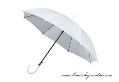 Regenschirm weiss