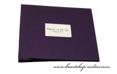 Fotoalbum violett