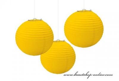 Dekorationskugel gelb