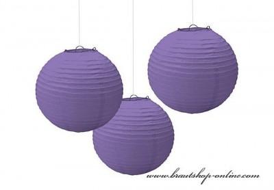 Papierkugel violett