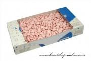 Detail anzeigen - Mini Herz Dragees in rosa