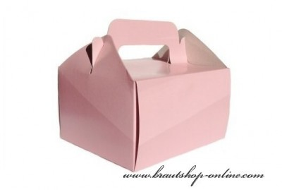 Schachtel für Süssigkeiten in rosa