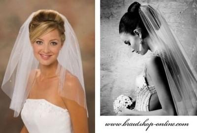 Brautschleier weiss