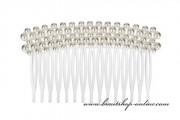Detail anzeigen - Brautkamm mit den Perlen in weiss