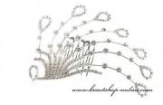 Detail anzeigen - Luxuriöser Brautkamm