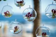 Glaskugel zum Aufhängen