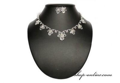 Brautkomplet Kristallglas