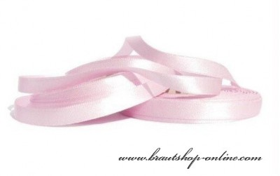 Satinband rosa 1 cm