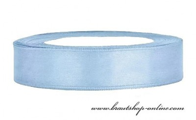 Satinband blau