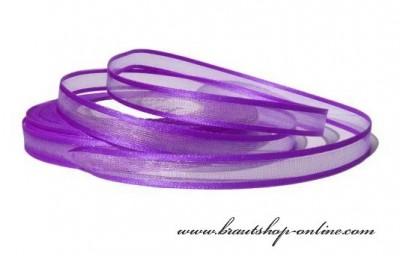Band mit Rand violett