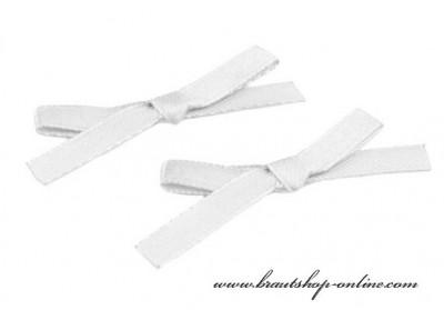 Weisse Hochzeitsmaschen