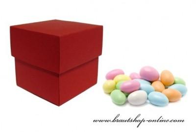 Schachtel rot
