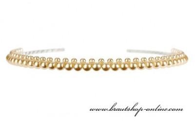 Haarreif Perlen
