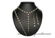 Detail anzeigen - Schönes Brautset mit den Perlen