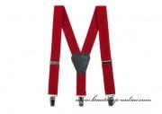 Detail anzeigen - Jugenhosenträger in rot