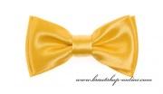 Detail anzeigen - Mini Kinderfliege mit Taschentuch gelb