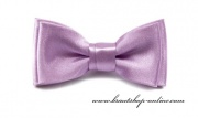 Detail anzeigen - Mini Kinderfliege mit Taschentuch lila