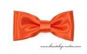 Detail anzeigen - Mini Kinderfliege mit Taschentuch orange