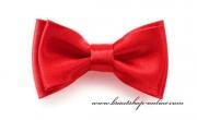 Detail anzeigen - Mini Kinderfliege mit Taschentuch rot