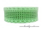 Detail anzeigen - Spitzenband in mint-green