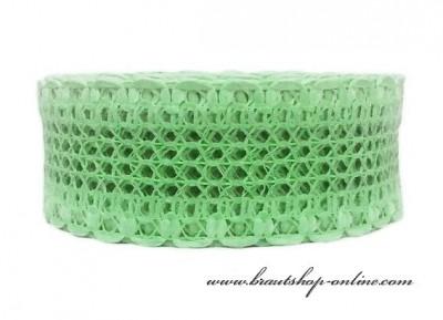 Spitzenband in mint-green