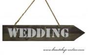 Detail anzeigen - Wegweiser aus Holz - Wedding