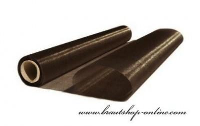 Organzastoff Schokolade