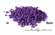 Detail anzeigen - Dekogranulat in violett