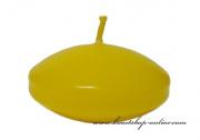Detail anzeigen - Schwimmende Kerzen in gelb - 6 Stück
