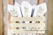 Detail anzeigen - Tüten für Hochzeitsreis und Rosenblätter