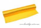 Einseitiger Satinstoff gelb, Breite 36 cm