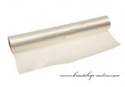 Einseitiger Satinstoff in creme, Breite 36 cm