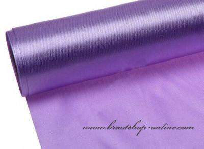 Einseitiger Satinstoff lilac, Breite 12 cm